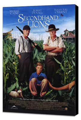 Secondhand Lions - 27 x 40 Movie Poster - Style A - Museum Wrapped Canvas