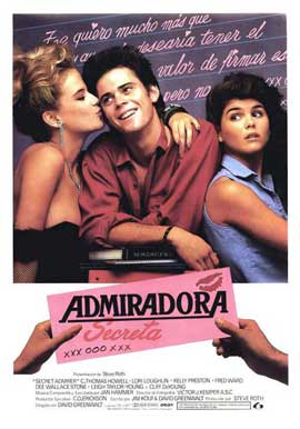 Secret Admirer - 27 x 40 Movie Poster - Spanish Style A