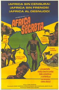 Secret Africa - 11 x 17 Movie Poster - Spanish Style A