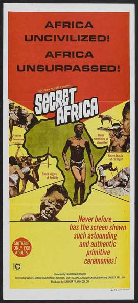 Secret Africa - 14 x 36 Movie Poster - Insert Style A