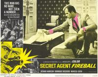 Secret Agent Fireball - 11 x 14 Movie Poster - Style A