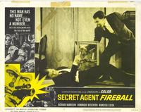 Secret Agent Fireball - 11 x 14 Movie Poster - Style B