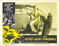 Secret Agent Fireball - 11 x 14 Movie Poster - Style F
