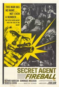 Secret Agent Fireball - 11 x 17 Movie Poster - Style A
