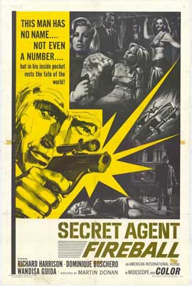 Secret Agent Fireball - 27 x 40 Movie Poster - Style A