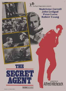 The Secret Agent - 11 x 17 Movie Poster - Style C