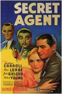 The Secret Agent - 43 x 62 Movie Poster - Bus Shelter Style A
