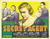 The Secret Agent - 30 x 40 Movie Poster UK - Style A