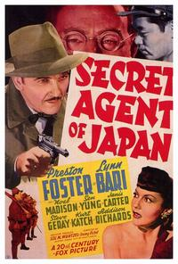 Secret Agent of Japan - 27 x 40 Movie Poster - Style A