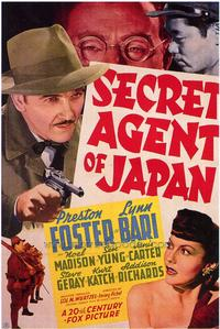 Secret Agent of Japan - 43 x 62 Movie Poster - Bus Shelter Style A