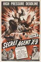 Secret Agent X-9 - 27 x 40 Movie Poster - Style B