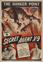 Secret Agent X-9 - 11 x 17 Movie Poster - Style E