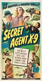 Secret Agent X-9 - 11 x 17 Movie Poster - Style F