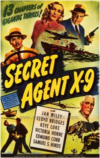 Secret Agent X-9 - 43 x 62 Movie Poster - Bus Shelter Style A