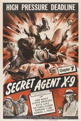 Secret Agent X-9 - 11 x 17 Movie Poster - Style B