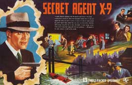 Secret Agent X-9 - 22 x 28 Movie Poster - Half Sheet Style A