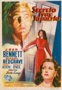 Secret Beyond the Door - 11 x 17 Movie Poster - Spanish Style A