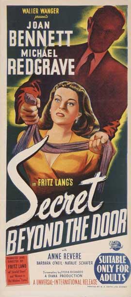 Secret Beyond the Door - 14 x 36 Movie Poster - Insert Style A
