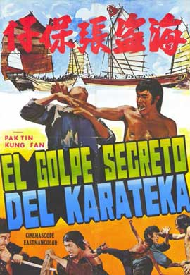 Secret Blow of Karate - 11 x 17 Movie Poster - Spanish Style A