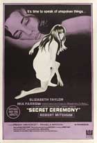 Secret Ceremony - 27 x 40 Movie Poster - Australian Style A