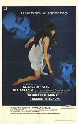 Secret Ceremony - 27 x 40 Movie Poster - Style A