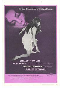 Secret Ceremony - 27 x 40 Movie Poster - Style B