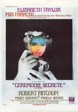 Secret Ceremony - 11 x 17 Movie Poster - French Style A
