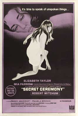 Secret Ceremony - 11 x 17 Movie Poster - Australian Style A