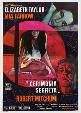 Secret Ceremony - 11 x 17 Movie Poster - Italian Style A