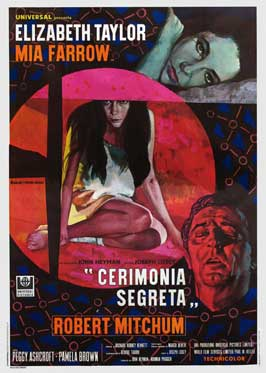 Secret Ceremony - 27 x 40 Movie Poster - Italian Style A