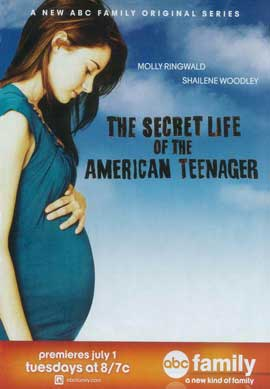 Secret Life of the American Teenager, The (TV) - 11 x 17 TV Poster - Style A