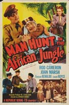 Secret Service in Darkest Africa - 27 x 40 Movie Poster - Style D