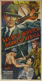 Secret Service in Darkest Africa - 27 x 40 Movie Poster - Style C