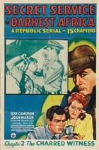 Secret Service in Darkest Africa - 27 x 40 Movie Poster - Style E