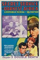 Secret Service in Darkest Africa - 27 x 40 Movie Poster - Style F