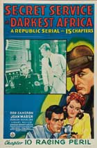 Secret Service in Darkest Africa - 11 x 17 Movie Poster - Style G