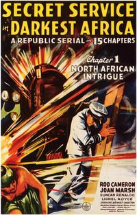 Secret Service in Darkest Africa - 11 x 17 Movie Poster - Style A