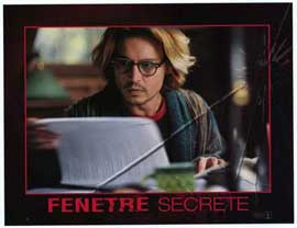 Secret Window - 11 x 14 Movie Poster - Style D