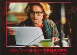 Secret Window - 11 x 14 Poster German Style B