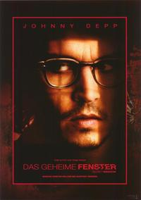 Secret Window - 11 x 14 Poster German Style D
