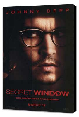 Secret Window - 11 x 17 Movie Poster - Style A - Museum Wrapped Canvas