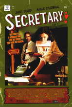 Secretary - 11 x 17 Movie Poster - Style B