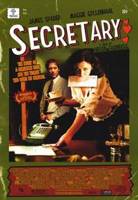 Secretary - 43 x 62 Movie Poster - Bus Shelter Style A
