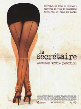 Secretary - 11 x 17 Movie Poster - French Style A