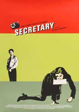 Secretary - 11 x 17 Movie Poster - Style F