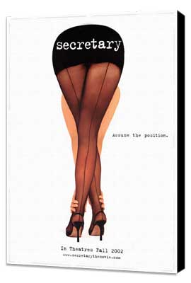 Secretary - 27 x 40 Movie Poster - Style A - Museum Wrapped Canvas