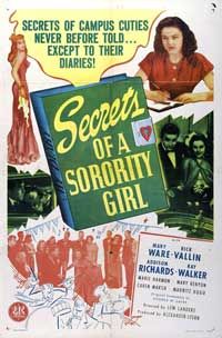 Secrets of a Sorority Girl - 43 x 62 Movie Poster - Bus Shelter Style A