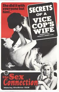 Secrets of a Vice Cop's Wife/The Sex Connection - 27 x 40 Movie Poster - Style A