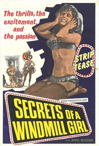 Secrets of a Windmill Girl - 11 x 17 Movie Poster - Style A