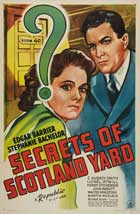 Secrets of Scotland Yard - 11 x 17 Movie Poster - Style A